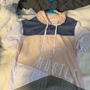 Xl Carbon shortsleeved hoodie! HUSTLE edition